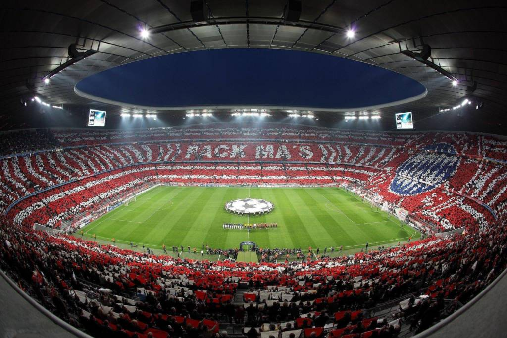Bayern stadium tour