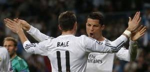 Real Madrid 7 Bale Ronaldo