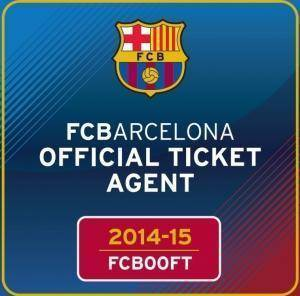 Barcelona 15 official tickets