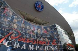 A partial view of the Parc des Princes stadium, home of the French L1 football club Paris Saint-Germain, taken on June 27, 2013 in Paris as newly appointed coach Laurent Blanc was officially presented today. AFP PHOTO / FRANCK FIFE (Photo credit should read FRANCK FIFE/AFP/Getty Images)