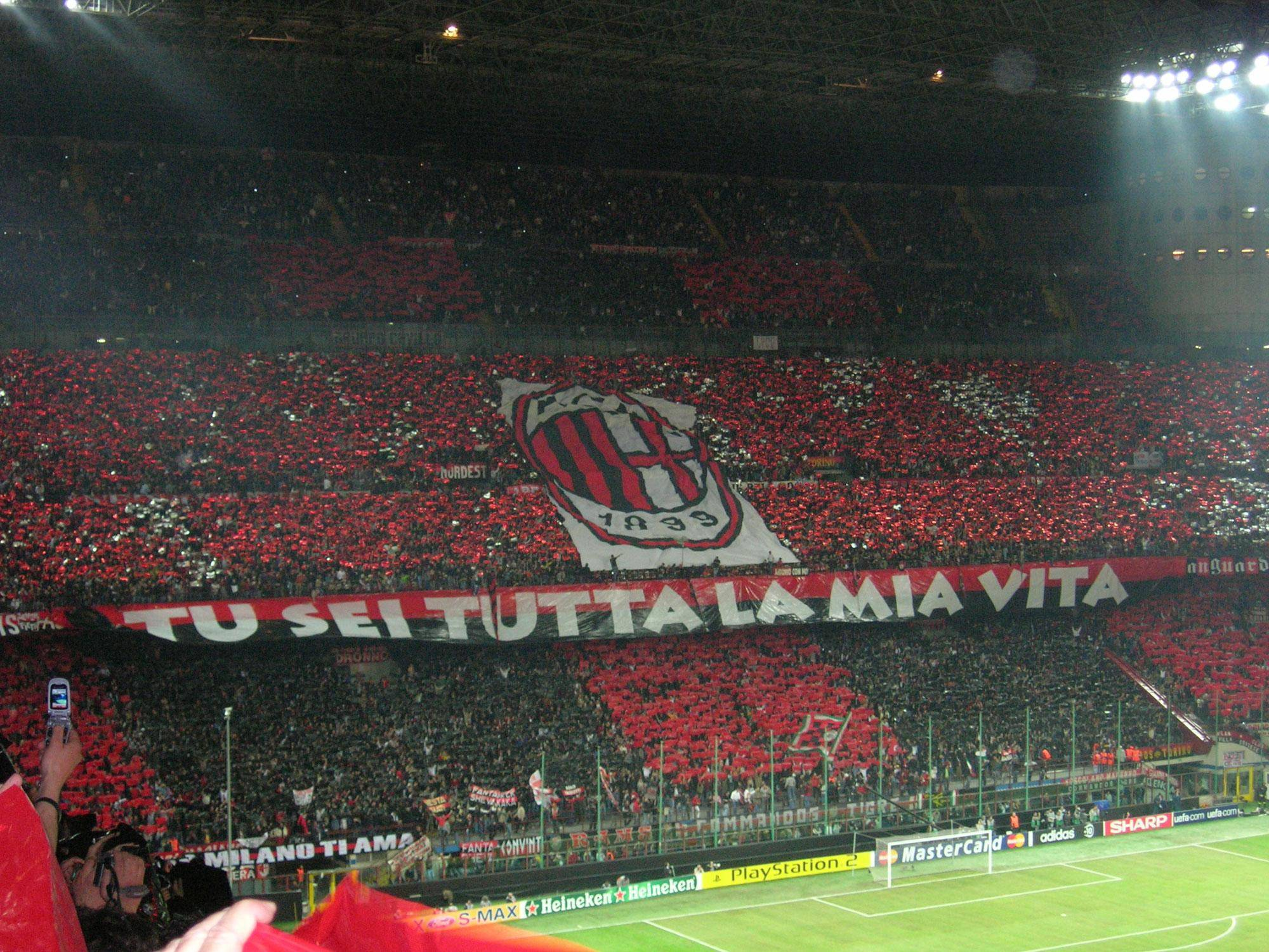 AC Milan football tickets
